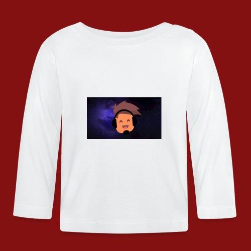 ProfilBild RymdBakgrund - Långärmad T-shirt baby
