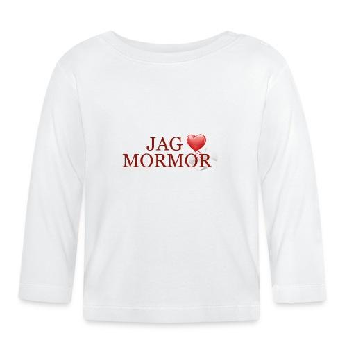 Jag älskar mormor - Långärmad T-shirt baby