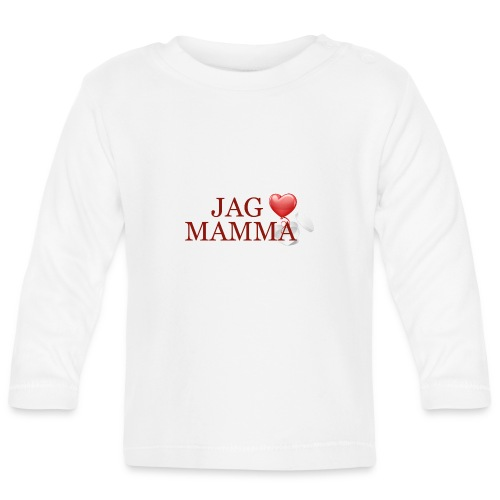 Jag älskar mamma - Långärmad T-shirt baby