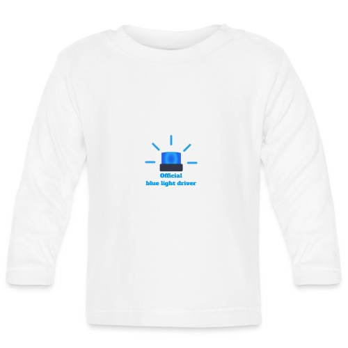 Blue light driver - Baby Langarmshirt