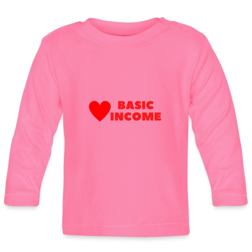basic income red trans - T-shirt