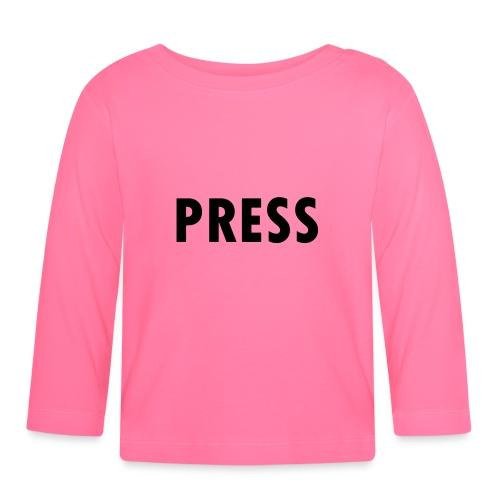press - Baby Langarmshirt