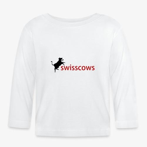 Schwarz-Rot Hoodie - Baby Langarmshirt