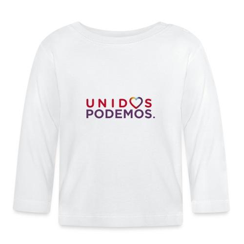 Taza Unidos Podemos 2016 Blanca - Camiseta manga larga bebé