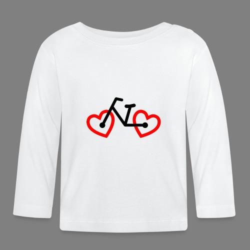 Bike Love - Baby Langarmshirt