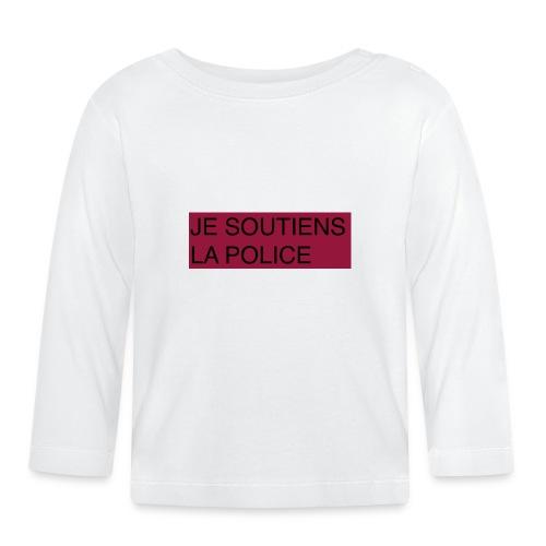 SOUTIENS POLICE - T-shirt manches longues Bébé