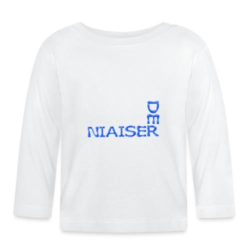 Pas le temps de niaiser - T-shirt manches longues Bébé