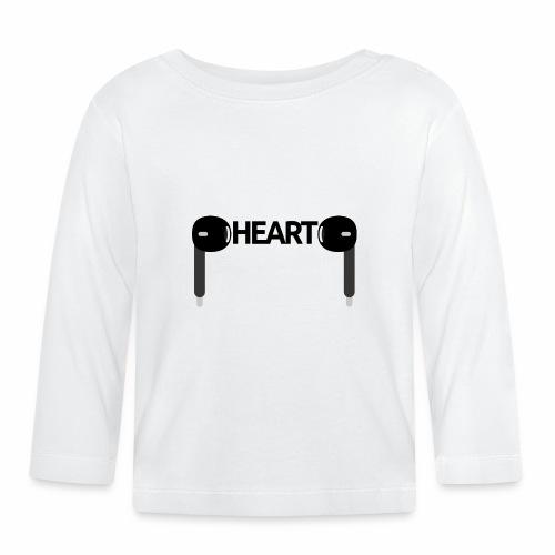ListenToYourHeart - Koszulka niemowlęca z długim rękawem