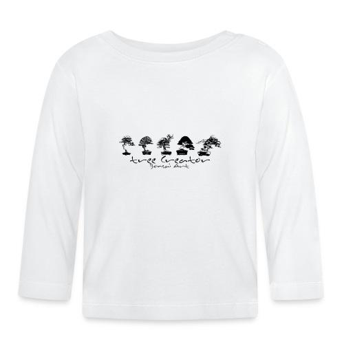 tree creator bonsa art horizon - T-shirt manches longues Bébé