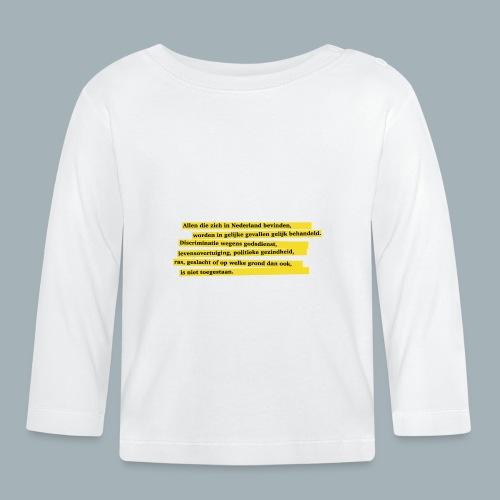 Nederlandse Grondwet T-Shirt - Artikel 1 - T-shirt