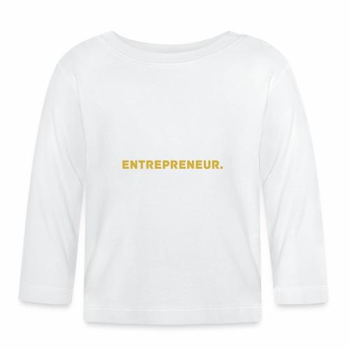 Millionaire. X Entrepreneur. - Baby Long Sleeve T-Shirt