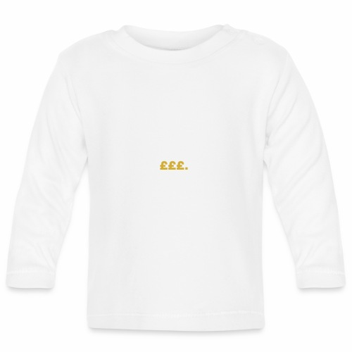Millionaire. X £££. - Baby Long Sleeve T-Shirt