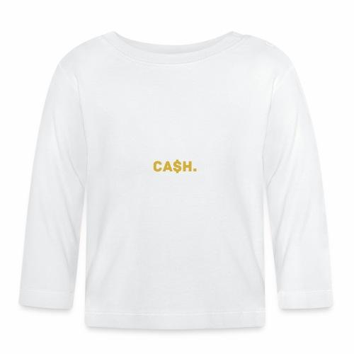 Millionaire. X Ca $ h. - Baby Long Sleeve T-Shirt