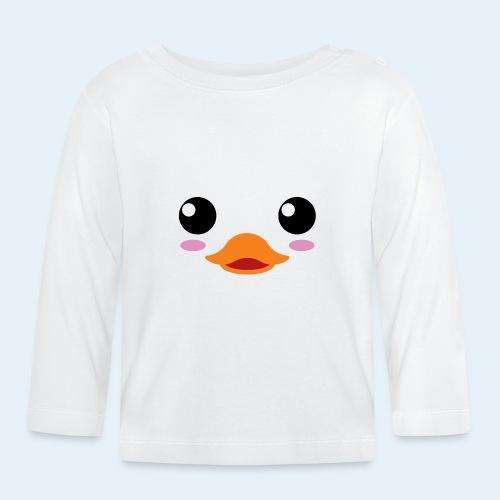 Pato bebé (Cachorros) - Camiseta manga larga bebé