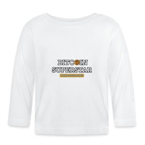bitcoin superstar - Maglietta a manica lunga per bambini