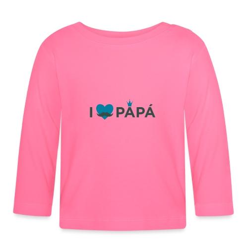 ik hoe van je papa - T-shirt manches longues Bébé