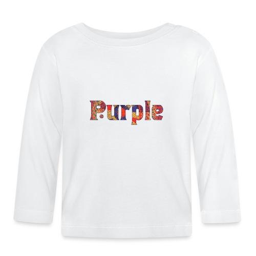 Purple - Baby Long Sleeve T-Shirt