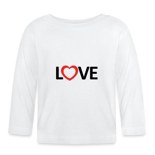 Love - Camiseta manga larga bebé