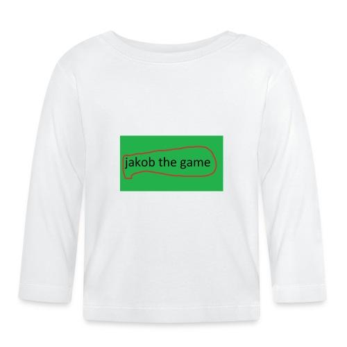 jakobthegame - Langærmet babyshirt