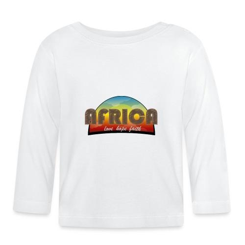 Africa_love_hope_and_faith2 - Maglietta a manica lunga per bambini