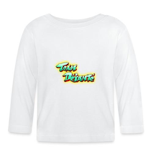 logo-rouge-vert-turquoise - T-shirt manches longues Bébé