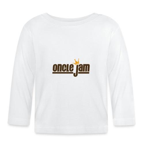 Oncle Jam horizontal brun - T-shirt manches longues Bébé