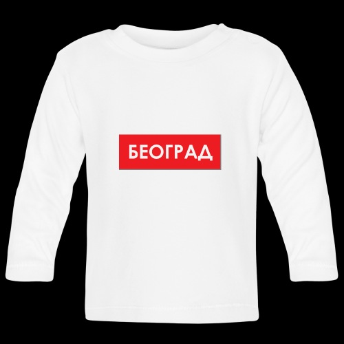 Beograd - Utoka - Baby Langarmshirt