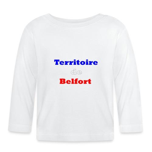 Territoire Belfort Tricolore - T-shirt manches longues Bébé
