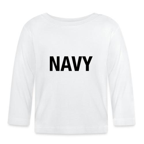 NAVY - Baby Long Sleeve T-Shirt
