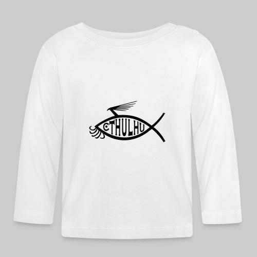 Cthulhu Fisch nP - Baby Langarmshirt