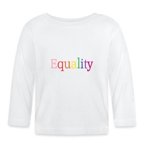 Equality | Regenbogen | LGBT | Proud - Baby Langarmshirt