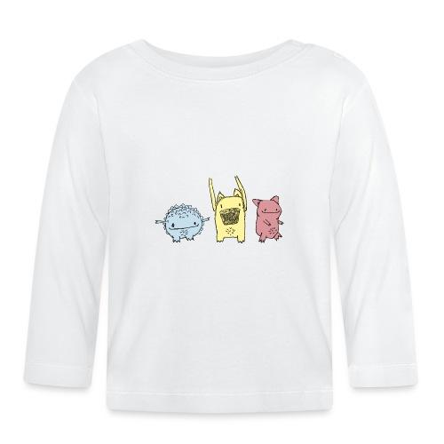 Little Monster friends02 - Baby Langarmshirt