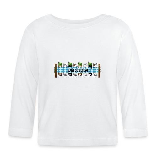 Oktoberfest Katzen - Baby Langarmshirt