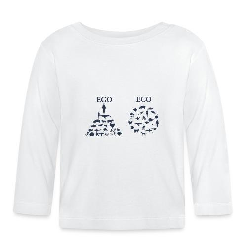 Ego VS Eco - Maglietta a manica lunga per bambini