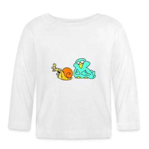 Schnecke und Vogel Nr 3 von dodocomics - Baby Langarmshirt