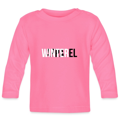 Winter Apparel Logo - Langærmet babyshirt