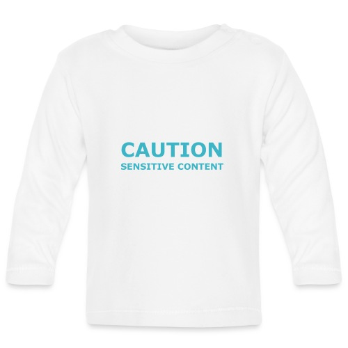 Caution men's t-shirt - Baby Long Sleeve T-Shirt