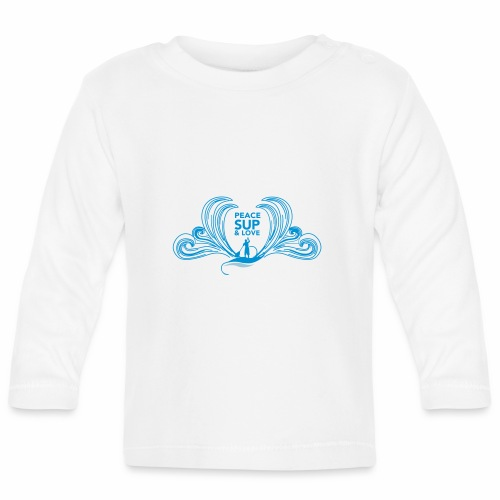 Peace sup and love 2 - T-shirt manches longues Bébé