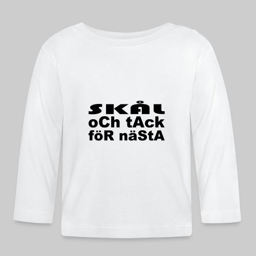 Skål Och Tack - Långärmad T-shirt baby