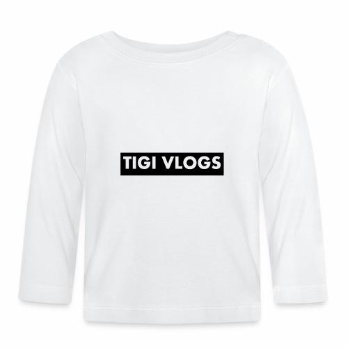 Tigi Vlogs Merch - Långärmad T-shirt baby