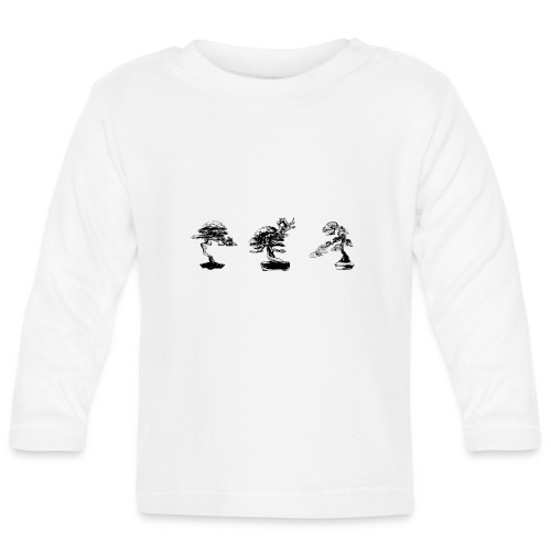 3_bonsai - T-shirt manches longues Bébé