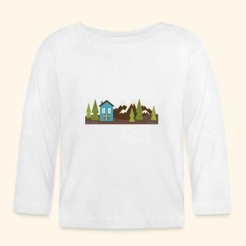 casettaAC - Maglietta a manica lunga per bambini