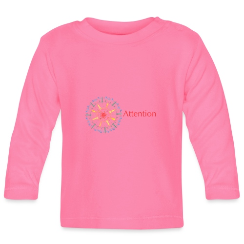 Attention - Baby Long Sleeve T-Shirt