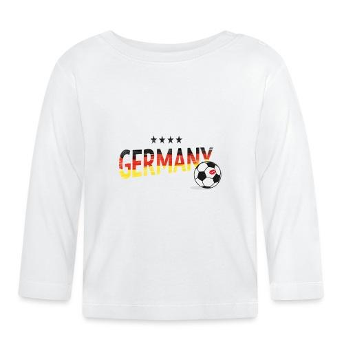 Fußball Weltmeister Fan Deutschland - Baby Langarmshirt