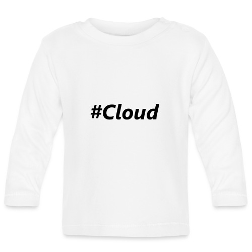 #Cloud black - Baby Langarmshirt