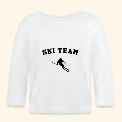 ski team - T-shirt manches longues Bébé