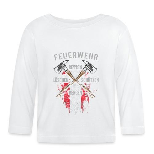 Retten Löschen Bergen Schützen - Baby Langarmshirt