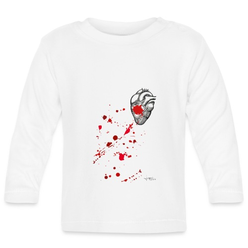 Bloody Heart - T-shirt manches longues Bébé