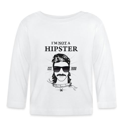 HIPSTER Shirt - Pornös - oldschool - retro - Baby Langarmshirt