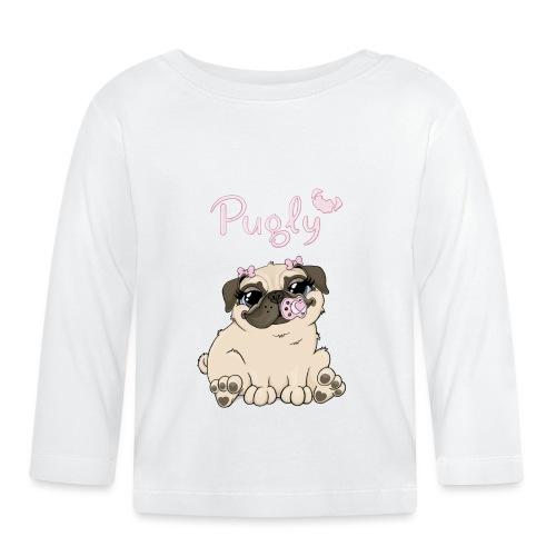 Bella Pug - Långärmad T-shirt baby